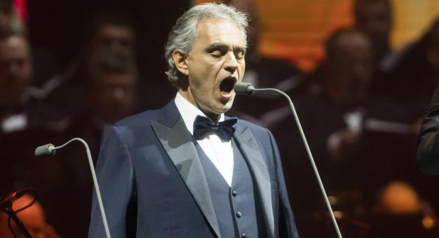 Andrea Bocelli - najpierw album, potem koncert