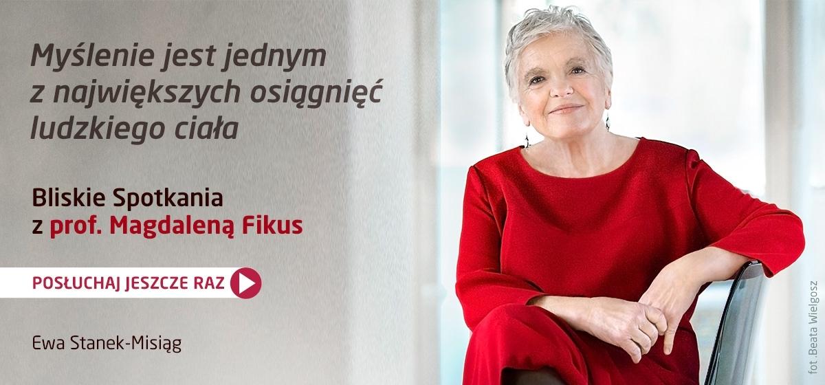 Magdalena Fikus w Bliskich Spotkaniach