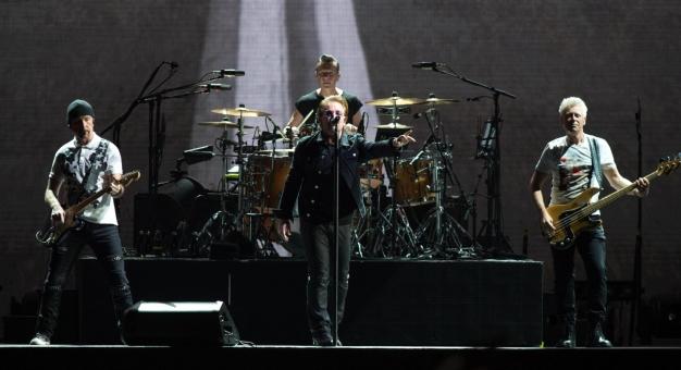 U2 na czele rankingu najbardziej dochodowych światowych tras koncertowych