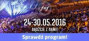 Program Festiwalu Muzyki Filmowej 2016!
