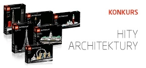 W magazynie Classic Design do zdobycia klocki LEGO z serii Architektura!