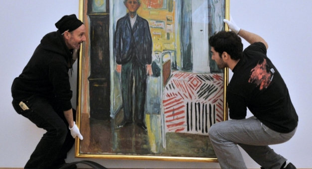 Obrazy Muncha w Metropolitan na Manhattanie