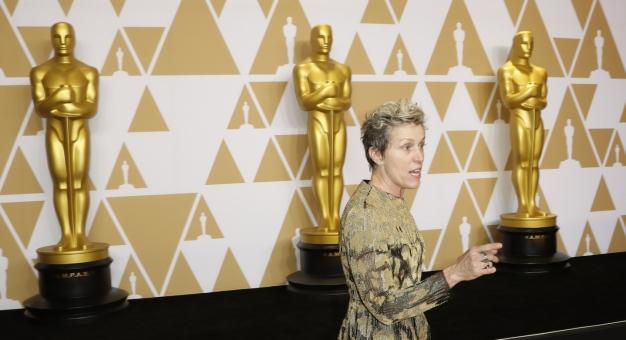 Zatrzymano podejrzanego o kradzież Oscara Frances McDormand