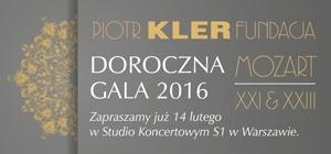 Koncert Fundacji Piotra Klera – Doroczna Gala 2016