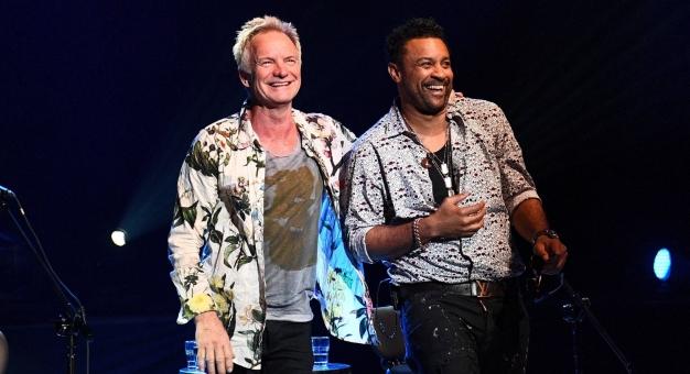 Sting i Shaggy wystąpili w niedzielę w Studiu Koncertowym Polskiego Radia
