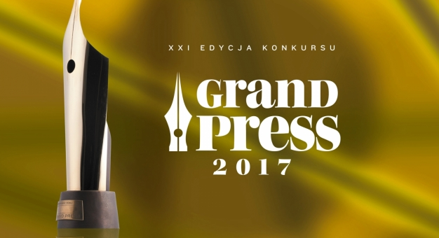 Nagrody Grand Press: Wojciech Bojanowski Dziennikarzem Roku 2017