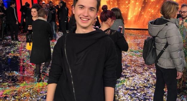 18-letni Marcin Patrzałek wygrał talent show we włoskiej telewizji!