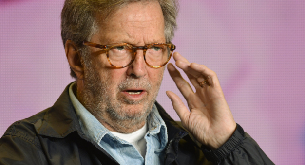 Eric Clapton odmawia grania tylko dla zaszczepionych