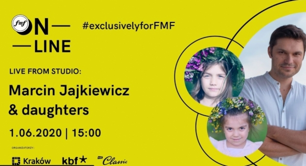 FMF online: LIVE from studio: Marcin Jajkiewicz & córki