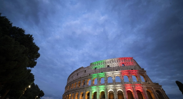 Burmistrz Rzymu pomyliła Koloseum z amfiteatrem we Francji
