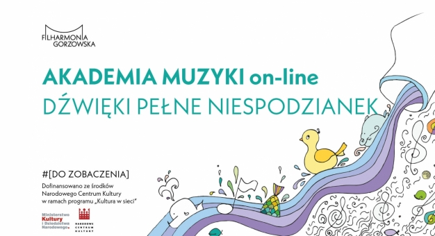 Filharmonia Gorzowska rozpoczyna zajęcia edukacyjne w sieci