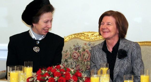 Brytyjska rodzina królewska w Polsce
