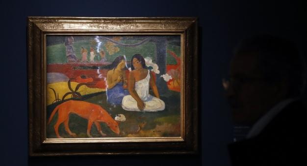 Obraz Gauguina z okresu tahitańskiego na aukcji w Paryżu