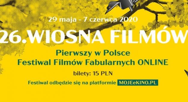 26. Festiwal Filmowy Wiosna Filmów - od piątku online