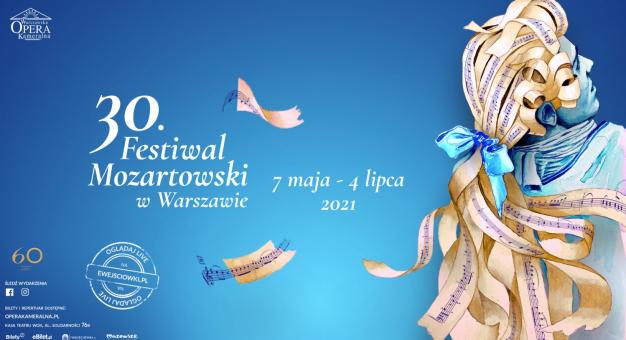 30. Festiwal Mozartowski od piątku w Warszawskiej Operze Kameralnej