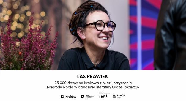 Powstaje LAS PRAWIEK – Kraków zasadzi 25 000 drzew z okazji Nobla dla Olgi Tokarczuk