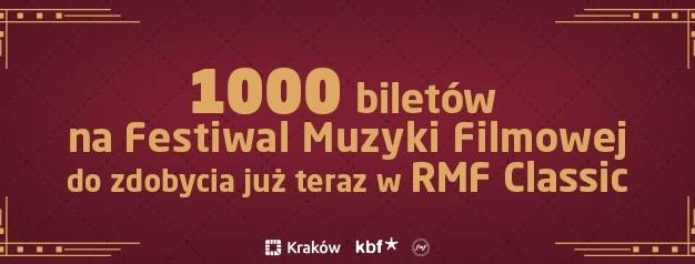 Zapraszamy Was na wielkie święto muzyki filmowej do Krakowa! Chcecie bilety? :)