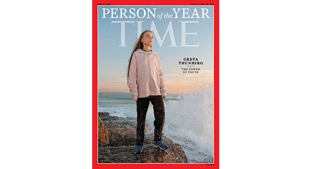 """Greta Thunberg człowiekiem roku tygodnika """"Time"""""""