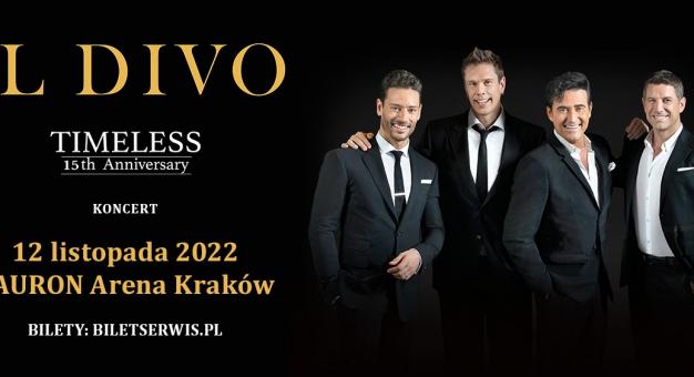 Il Divo – koncert w Krakowie w 2022 roku