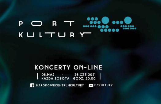 """Cykl koncertów online """"Port Kultury"""" - od 8 maja"""