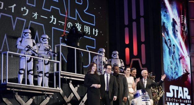 """Tydzień przed premierą """"Gwiezdnych wojen"""" fani w USA już stoją w kolejce do kina"""