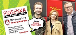 """Izabela Dąbrowska w piosence """"Razowy na zakwasie"""" z tekstem Artura Andrusa"""