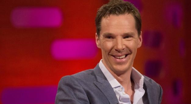Benedict Cumberbatch - niby taki mądry, a taki głupi...