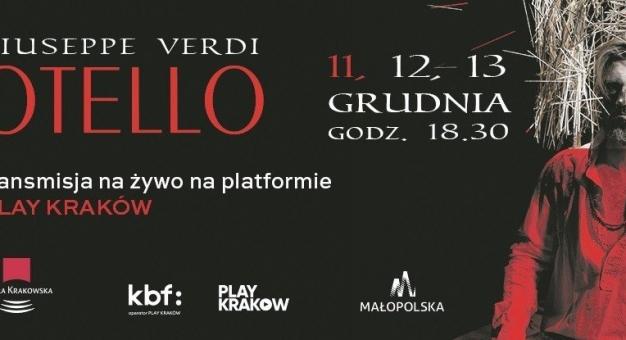 """""""Otello"""" Verdiego w grudniu po raz pierwszy w Operze Krakowskiej"""