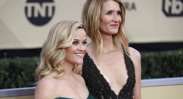 """Reese Witherspoon z obsadą """"Wielkich kłamstewek"""" finansuje posiłki dla medyków"""