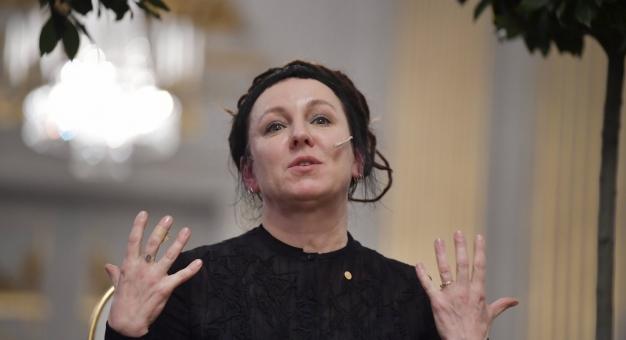 Sztokholm ciepło przyjmuje Olgę Tokarczuk