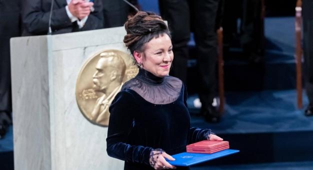Obchody rocznicy wręczenia Nagrody Nobla Oldze Tokarczuk