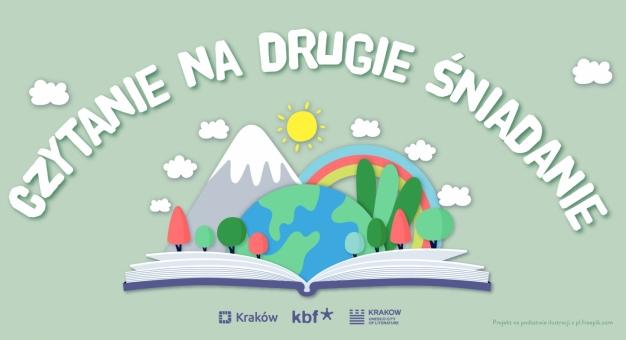 Z myślą o dzieciach i rodzicach. Kraków Miasto Literatury UNESCO czyta bajki na drugie śniadanie