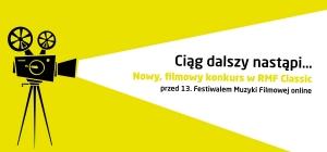 Filmowy konkurs w RMF Classic przed 13. Festiwalem Muzyki Filmowej online.