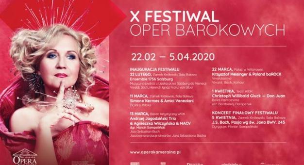 X Festiwal Oper Barokowych w Warszawskiej Operze Kameralnej - od soboty