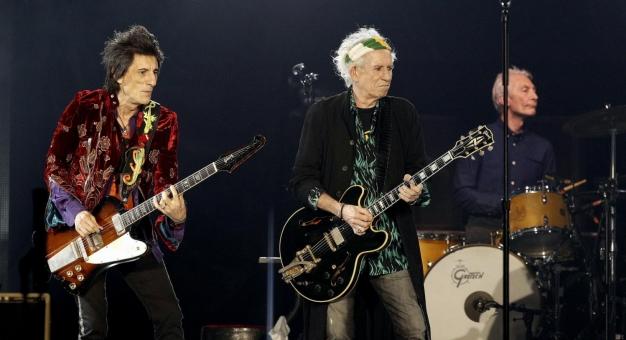 Keith Richards szykuje się do Dublina