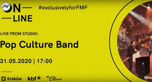 FMF online: LIVE from studio: Pop Culture Band