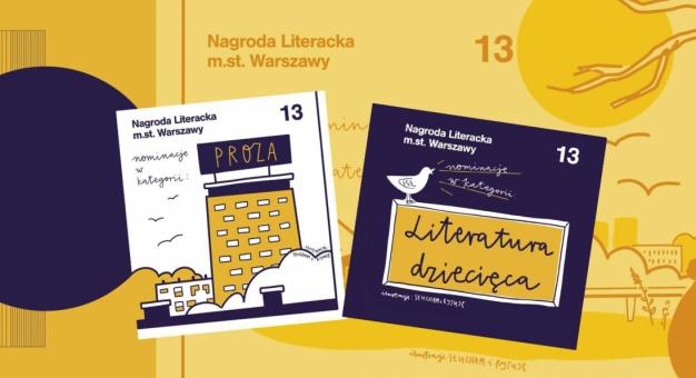 Poznaliśmy laureatów 13. Nagrody Literackiej m.st. Warszawy