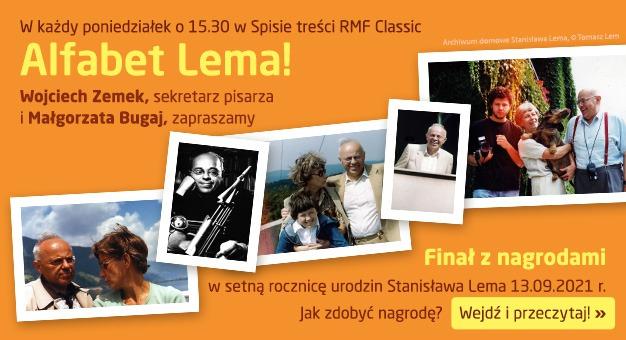 Alfabet Lema w RMF Classic!