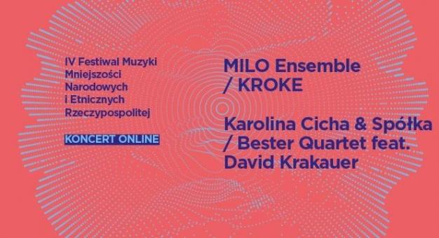 Premiera online IV Festiwalu Muzyki Mniejszości Narodowych i Etnicznych Rzeczypospolitej - 18-19 lipca