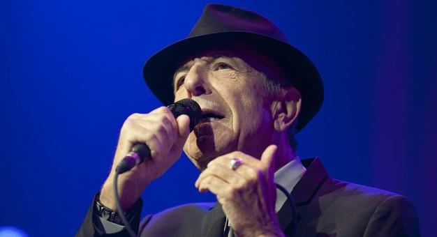 Leonard Cohen - hultaj w garniturze