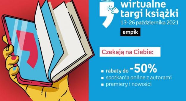 Bralczyk, Flanagan, Follett, Michaelides, Staroń, Miłoszewski, Maciąg i wielu innych na największych w Polsce Wirtualnych Targach Książki