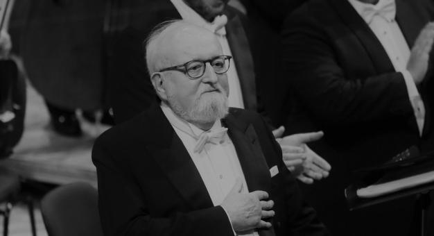 Elektroniczna księga kondolencyjna dedykowana Krzysztofowi Penedereckiemu