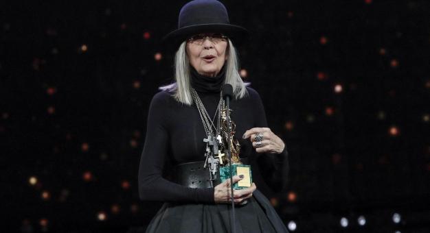 Diane Keaton - przewrotny kapelusznik