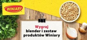 Wygraj blender i zestaw produktów Winiary
