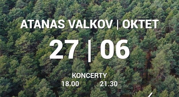 Atanas Valkov Oktet: Live from the Forest - Koncert prosto z lasu z video mappingiem 3D