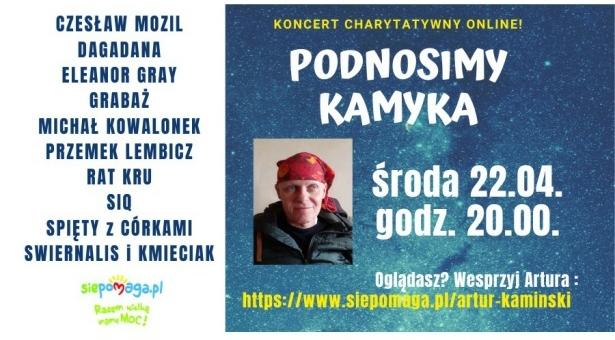 Podnosimy Kamyka - Koncert Charytatywny online