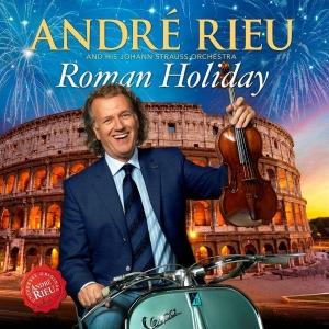 Andre Rieu prezentuje dwa nowe wydawnictwa: Roman Holiday CD oraz Wonderful World DVD