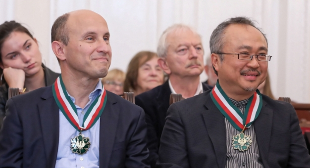 Pianiści Nelson Goerner i Dang Thai Son ze Złotym Medalem Gloria Artis