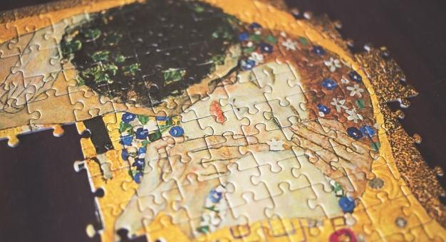 Zdigitalizowany i zwielokrotniony Klimt w Paryżu