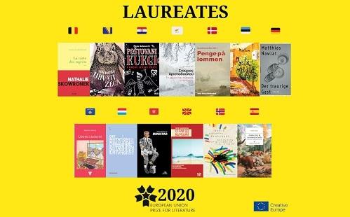 Ogłoszono 13 laureatów Europejskiej Nagrody Literackiej 2020